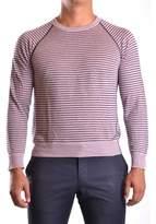 Armani Collezioni Men's Purple Linen Sweater.