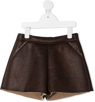 Douuod Kids Sherpa-Lined Shorts