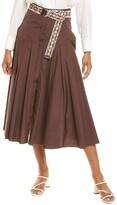 Thumbnail for your product : Max Mara Studio Erica Midi Skirt
