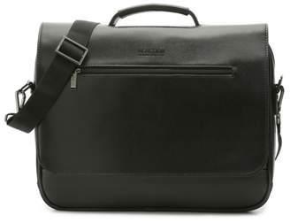 Kenneth Cole Reaction En-cased Leather Messenger Bag