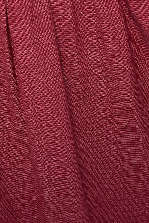 Thumbnail for your product : BA&SH Lune Broderie Anglaise-trimmed Cotton And Linen-blend Mini Dress