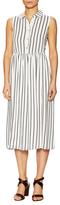 Lucca Couture Striped Midi Shirtdress