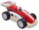 Indigo Jamm Racing Rocky Wood Racecar and Peg Person in Red