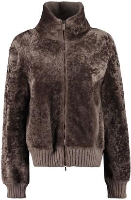 Fabiana Filippi Shearling Bomber Jacket