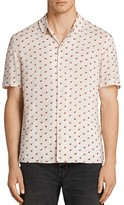 AllSaints Cerise Slim Fit Button-Down Shirt