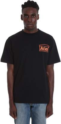 Aries T-shirt In Black Cotton