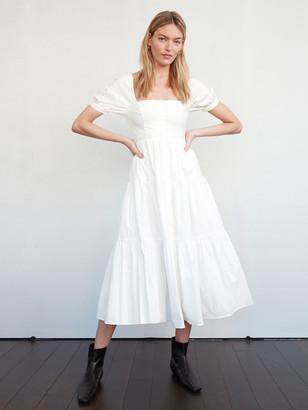 Billie The Label Eleanor Puff Sleeve Midi Dress