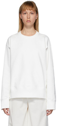 MM6 MAISON MARGIELA White Armpit Holes Sweatshirt