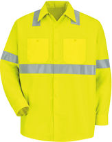 JCPenney Red Kap Long-Sleeve High-Visibility Shirt - Big & Tall