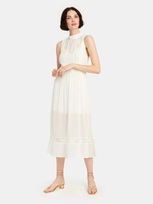 Auguste The Label Margot Wren High Neck Midi Dress