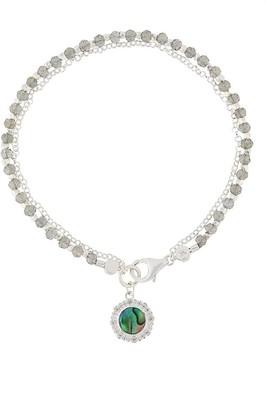 Astley Clarke Abalone Luna Biography bracelet
