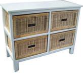 Brighton 4 Drawer Wide Cabinet