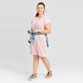 Universal Thread Women's Plus Size Short Sleeve T-Shirt Dress - Universal ThreadTM