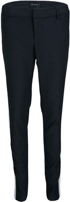 Zadig and Voltaire Black Knit Contrast Side Panel Detail Posh Pants M