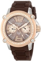 Mulco Women's MW2-28086S-034 Analog Display Swiss Quartz Brown Watch