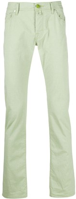 Jacob Cohen Mid-Rise Faded Jeans