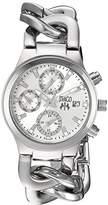Jivago Women's JV1240 Analog Display Swiss Quartz Silver Watch