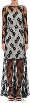 Nina Ricci WOMEN'S LACE LONG-SLEEVE GOWN