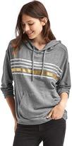 Gap Foil stripe pullover hoodie