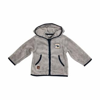 Salt&Pepper Salt and Pepper Baby_Boy's Jacket Motor Fleece Kapuze Cardigan Sweater