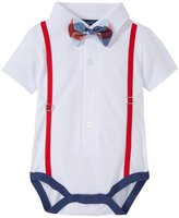 Andy & Evan Polo Shirtzie (Baby) - Aqua 0-3 Months