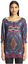 Custo Barcelona Women's Abstract Print Tunic