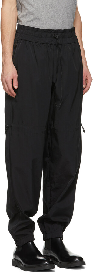 Thumbnail for your product : Paul Smith Black Twill Jogger Trousers