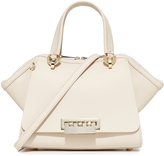 Zac Posen Solid Eartha Iconic Double Handle Bag