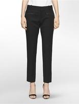 Calvin Klein Essential Skinny Zip Belted Pants