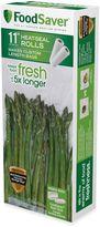 FoodSaver 11-Inch x 16-Foot 2-Pack Vacuum Packaging Rolls