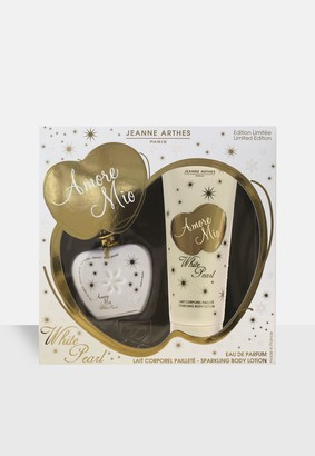 Missguided Jean Arthes Amore Mio White Pearl Eau De Parfum 100Ml Gift Set