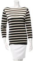 Tory Burch Beateau Neck Wool Sweater