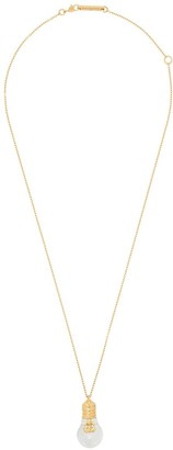 Ambush light bulb pendant necklace