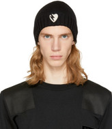 Saint Laurent Black Heart Beanie