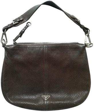 Prada Brown Exotic leathers Handbags