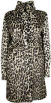 Stella McCartney Natural Leopard Alter Fur Coat