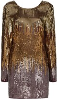 Rixo Aria sequinned mini dress