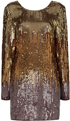 Rixo Aria sequinned mini dress