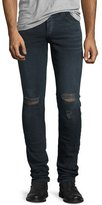 Rag & Bone Standard Issue Fit 1 Slim-Skinny Jeans, Dark Blue