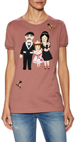 Dolce & Gabbana Family Embroidered Tee