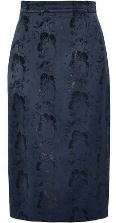 Antonio Berardi Satin-Jacquard Skirt