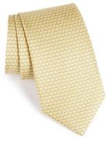 Salvatore Ferragamo Men's Coffee Cup Print Silk Tie