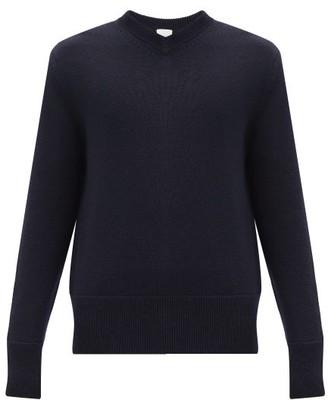Paul Smith V-neck Merino-wool Sweater - Navy