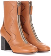 Chloé Exclusive to mytheresa.com leather ankle boots