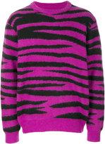 Stussy tiger pattern jumper