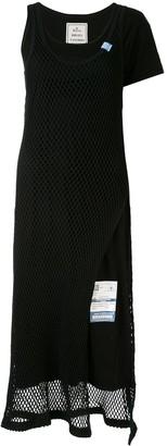 Maison Mihara Yasuhiro Asymmetric Midi Dress