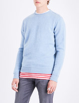 The Elder Statesman Crewneck cashmere jumper