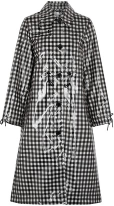 Barbour By ALEXACHUNG Agnes Gingham Coated Coat