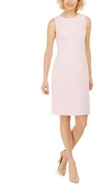 Kasper Petite Stretch Crepe Sheath Dress
