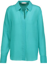 Matthew Williamson Silk Crepe De Chine Shirt